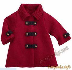 детское пальто спицами - Pesquisa Google