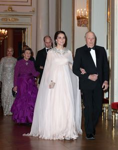 The Best Royal Dresses Ever Worn - Livingly Princess Charlene, Princess Kate, Alexander Mcqueen, Duke And Duchess, Duchess Of Cambridge, Oslo, Rosa Millennial, Burnt Orange Dress, Cape Gown