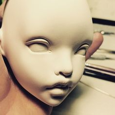 BiDoll Muha work in progress  #bidoll #porcelain #artist #doll #bjd #rafael #nuri