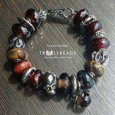 #trollbeads 天然石的魅力! 時代廣場919A號店/美麗華商場G25號店/德福廣場一期F14號店/荷里活廣場160號店/綠楊坊G27A號店/銅鑼灣廣場一期G07號店 #trollbeadshongkong #hkig #hongkong #colorful #world #charms #glass #bead #jewellery #bracelet #bangle #gift #autumn #natural #stone #silver