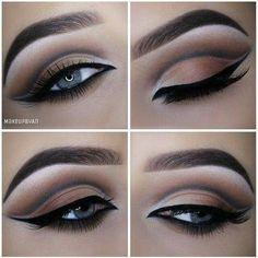 Très beau maquillage sophistiqué