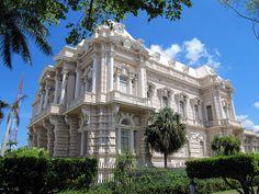 Museo de antropología e historia, Palacio Canton, Paseo Montejo, Merida, Yucatan, México.
