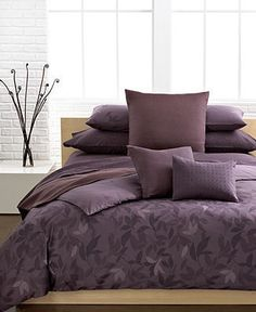 home decor & interior design - ShopStyle: Calvin Klein Bedding, Elm Comforter and Duvet Cover Sets