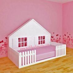 Mobilyada Moda Montessori Yer Yatağı 3.Model