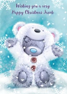 ♥ Tatty Teddy ♥ More Teddy Images, Teddy Bear Pictures, Cute Images, Cute Pictures, Tatty Teddy, Watercolor Card, Teddy Bear Quotes, Et Wallpaper, Blue Nose Friends