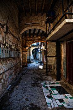 Alleys In Old Havana by Social Butterfly http://www.cuba-junky.com/havana/havana-city.htm