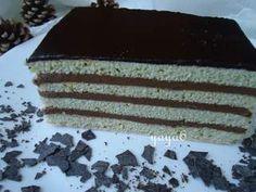 Dobos fals(de post) Tiramisu, Caramel, Goodies, Veggies, Vegan, Cake, Ethnic Recipes, Desserts, Sticky Toffee