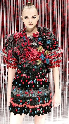 KENZO ❤ This is Crochet.