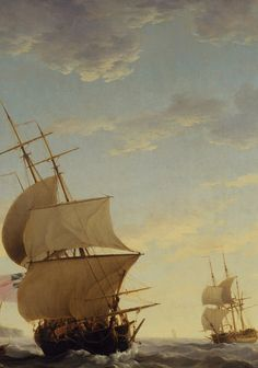 "faustyflakes: "" Shipping in the English Channel, Charles Brooking, Detail. Wooden Ship, Nautical Art, Sail Away, High Fantasy, Set Sail, Navy Ships, English Channel, Fantastic Art, Royal Navy"
