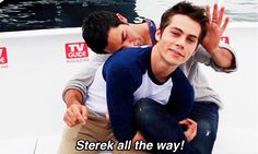 Woot, woot! You're a ship master! Derek and Stiles approve!