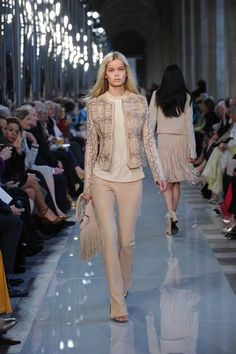 Classic elegance with a hippie vibe. Need this!    The.jacket - Salvatore Ferragamo Resort 2013