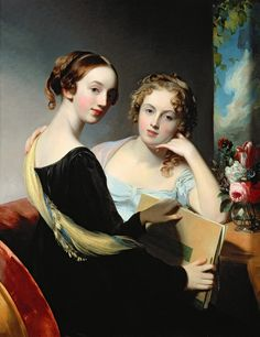 Portrait of the McEuen sisters By Thomas Sully