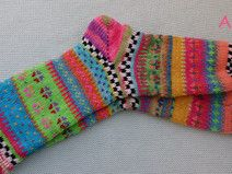 me von Sockenlust Color Inspiration, Knitting Patterns, Socks, Etsy, Cute, Winter, Tricot, Colorful Socks, Knitting Socks