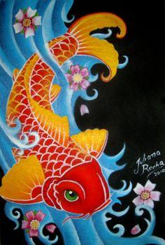 Koi fish by ~JMisfit on deviantART