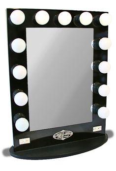 beds lighted vanity mirror vanity mirrors broadway lighted broadway. Black Bedroom Furniture Sets. Home Design Ideas
