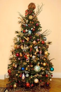 decorating christmas tree at your house with bells and jingles