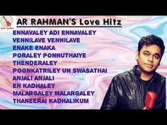 AR RAHMAN    90's Love Hitzz ஏ.அர். ரகுமான் காதல் மெல்லிசை மெட்டுக்கள் - YouTube Tag Image, Love, Music, Youtube, Amor, Musica, Musik, Muziek, Music Activities