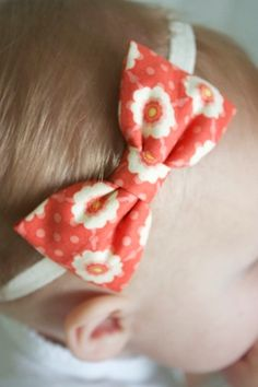 cute hair bow.