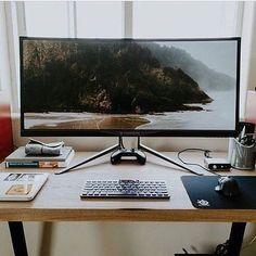 #minimalsetups  Acer Predator X34A Curved 3800R Écran Gaming G-Sync 34 pouces 3440 x 1440 100Hz 4ms (DP / HDMI)