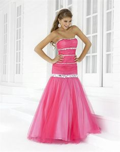 Blush 5129 at Prom Dress Shop