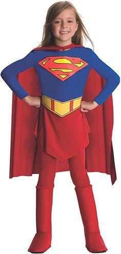 Supergirl DC Comics Superman Superhero Fancy Dress Up Halloween Child Costume Halloween Snacks, Halloween Cupcakes, Halloween Costumes For Kids, Vintage Halloween, Diy Halloween, Toddler Halloween, Halloween 2017, Halloween Horror, Superman Girl Costumes