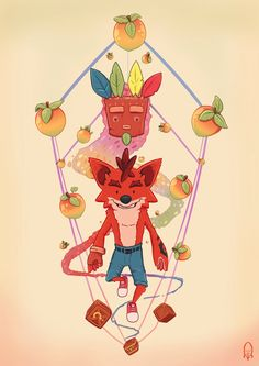 - Created by Augusto Passos Geek Games, Dog Games, Geek Culture, Geeky Wallpaper, Crash Bandicoot Characters, Playstation, Spyro The Dragon, Furry Comic, Classic Video Games