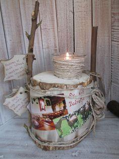 Tourist candelstick , handmade