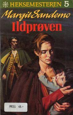 """Ildprøven"" av Margit Sandemo Reading, Books, Movies, Movie Posters, Libros, Films, Book, Film Poster, Reading Books"