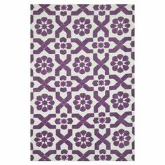 Woven rug in plum with a medallion trellis motif.  Product: RugConstruction Material: 100% PolyesterColor: PlumFeatures: Machine-madeNote: Please be aware that actual colors may vary from those shown on your screen. Accent rugs may also not show the entire pattern that the corresponding area rugs have.Cleaning and Care: Clean spills immediately by blotting with a clean sponge or cloth.