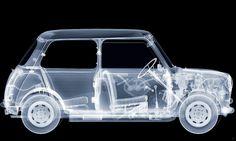 Austin Mini . Thru x ray specs #classic #minicooper