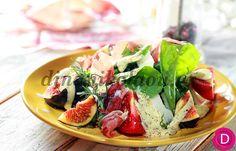 Σαλατικά με σύκα και προσούτο | Dina Nikolaou Dressing Recipe, Caprese Salad, Salads, Recipes, Food, Recipies, Essen, Meals, Ripped Recipes