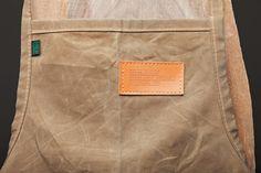 horse brand waxed canvas apron