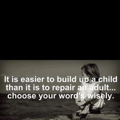 Wise words always!! Stop and think b4 you speak!!