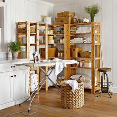 Function & beautiful laundry room
