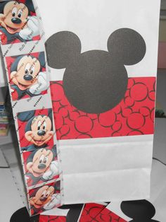Mickey Mouse Party Favor Bags - $5.99
