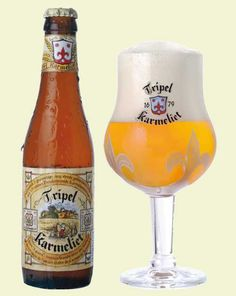No 1. Tripel Karmeliet - My personal favorit! Chosen as best beer in the world in 2008 by the British magazine Beers of the World. http://www.bestbelgianspecialbeers.be/main_eng.html