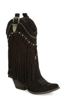 j'adore ç un noir sur # # # fringe zulily cuir bottine femmes 41c7d8