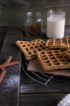 Nuss Spekulatius Waffeln – Ein Waffel Gedicht You are in the right place about Birthday Recipes cake Winter Desserts, Christmas Desserts, Christmas Baking, Christmas Recipes, Christmas Time, Xmas, Christmas Pancakes, Best Christmas Cookies, No Bake Treats