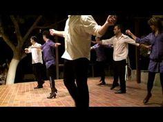 Grèce Crète le Syrtakis la danse de Zorba le Grec (dance of the Zorba th...