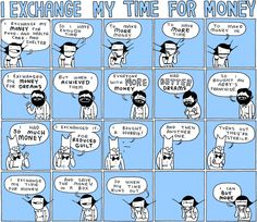 I Exchange My Time for Money