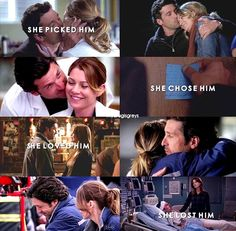 Image discovered by mcdreamy ♡. Find images and videos about grey's anatomy, meredith grey and patrick dempsey on We Heart It - the app to get lost in what you love. Greys Anatomy Frases, Greys Anatomy Funny, Grey Anatomy Quotes, Grays Anatomy, Derek Shepherd, Grey Quotes, Tv Quotes, Life Quotes, Lexy Grey