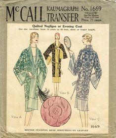 Vintage Dress Patterns, Coat Patterns, Mccalls Patterns, Clothing Patterns, Fashion Patterns, Retro Clothing, Vogue Patterns, 1920s Evening Dress, Vintage Outfits