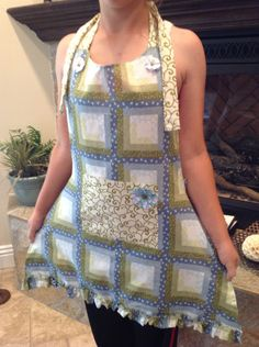 one of a kind handmade apron by KK4Fun on Etsy