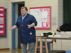 A School Assembly Is A Great Way To Learn About Inventors