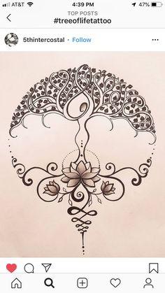 Tattoo Life, Lotusblume Tattoo, Tattoo Drawings, Lotus Tattoo, Tattoo Moon, Tiny Tattoo, Tattoo Fonts, Mandala Tattoo, Tattoo Sketches