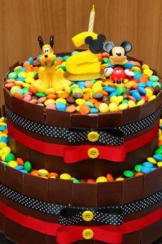decoracao festa do Mickey