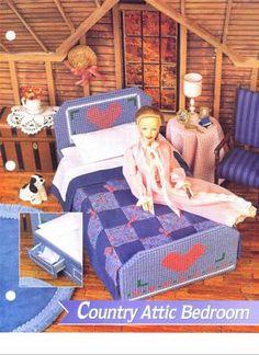 dormitorio | labores de esther. todo para barbie