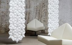 3form Europe - 3D Solutions- Walls And Partitions- Facet