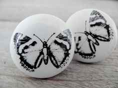 Decorative-Floral-Flower-Design-Round-Door-Knobs-Handles-White-And ...