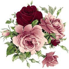 flores vintage png - Pesquisa Google